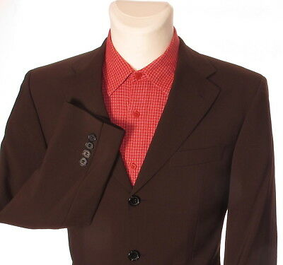 e6a0d0349 HUGO BOSS ANGELICO / PARMA Men's Brown Formal Suit Jacket Blazer 44 38''-