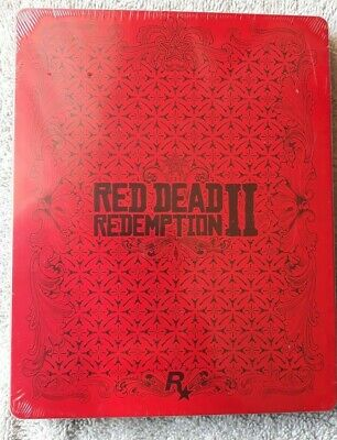Red Dead Redemption 2 - Steelbook - Pas de jeu / No Game - NEUF / NEW SEALED