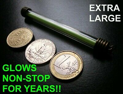 XL Tritium Keyring/Keychain,Glows Non Stop For Decades Military Glow In The Dark