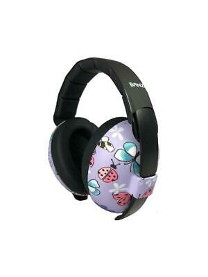 Banz Baby Earmuffs Butterfly  Age 0-3 Years Gift Boxed