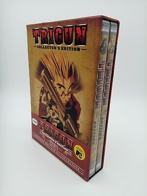 Trigun Collector's Edition Box 1 Da 1 a 8    Shin Vision DVD