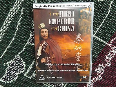 The First Emperor Of China - Australian Release Dvd - Imax Christopher Plummer