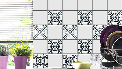 Tile Stickers for Kitchen Bathroom stairs raiser Tile Decals st26 Set of 24 pcs