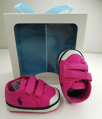 shopping purchase cheap cheap prices NEW RALPH LAUREN Layette Fushia Chaz Baby Girl Shoes - Sizes ...