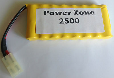 9.6v 2500mAh  NI-MH Rechargable AA, RC Power Pack Battery free P&P