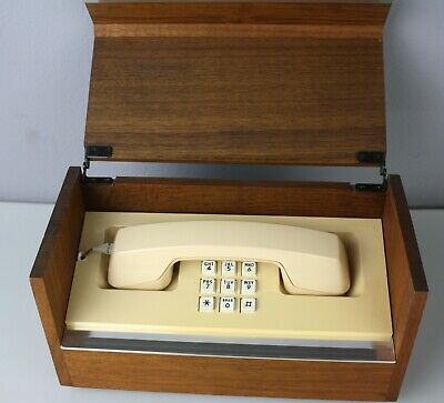 Vintage Western Electric Touch-Tone Wood Box Telephone