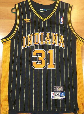 ADIDAS MENS INDIANA Pacers Hickory NBA Paul George Shirt Red
