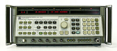 Agilent HP Keysight 8341B Generatore 10MHz 20 GHz Sweep Signal generator Sinthes