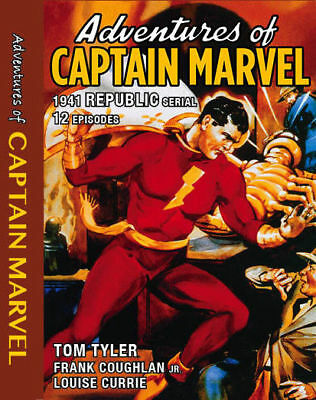 The Adventures Of Captain Marvel 12 Episode Serial,On A Dvd+R Disc
