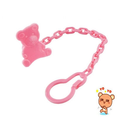 Lovely Baby Dummy Pacifier Soother Nipple Chain Clip Buckle Holder 1Pc