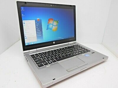 "HP EliteBook 8470p 14"" intel i5-3320M 2.60GHz - 8GB - 256GB SSD - Windows 7 Pro"