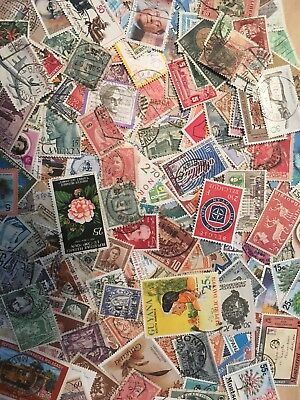 World Stamps - FREE GIFT - Off paper 150 Mixed randomly/Unsorted 10