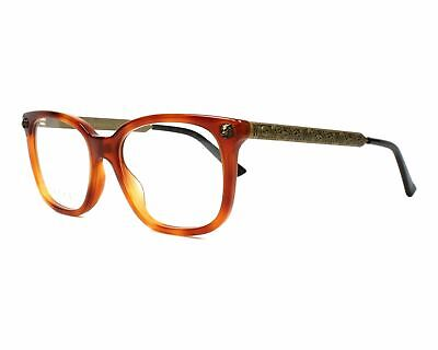 88b7b781916b EYEGLASSES GUCCI GG0165O 003 51-17 Black Red - $206.50 | PicClick