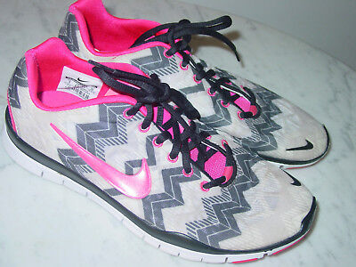 Nike Flex 2013 Run (GS) Laufschuhe black fusion pink white