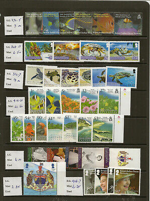 Biot 2002-18 Mnh New Issues Price To Sell At £187