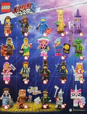 LEGO Figurine Minifigure 71023 Série The Lego Movie 2 Series Au Choix NEUF