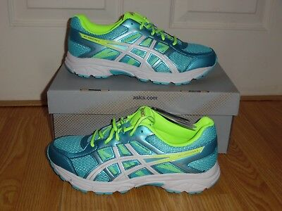 ASICS GEL Contend 4 Youth Running Shoe TurquoiseYellow Boys