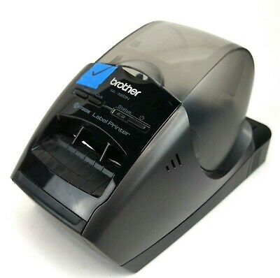 Brother QL-580N Printer Tested Working w/ Power Cord