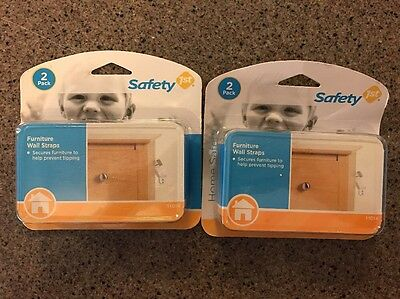 safety 1st furniture wall straps Lot Of Two
