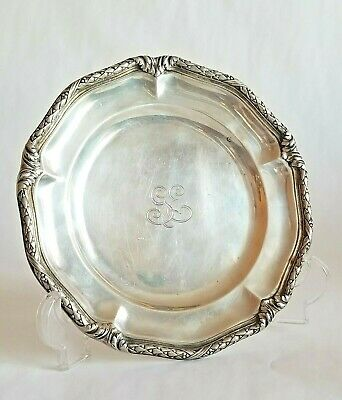 Antique Tiffany & Co Sterling Silver Platter Tray Plate