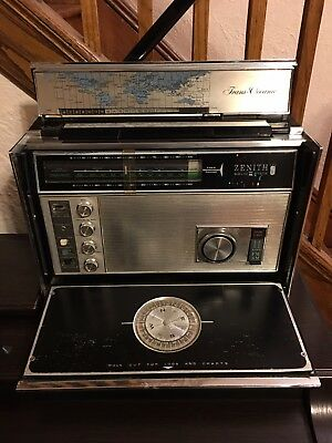 Zenith Trans Oceanic Royal D7000Y Portable S.W. Radio USED