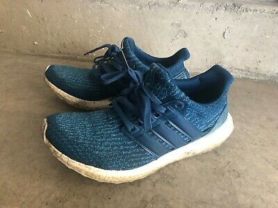 542a67948c428 Adidas Ultra Boost 3.0 Parley Blue BB4762 Size 11 US With Original Adidas  Box