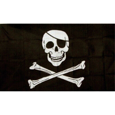 Pirate Flag 3X5FT Jolly-roger Tlupa Historical Army Royal Banner