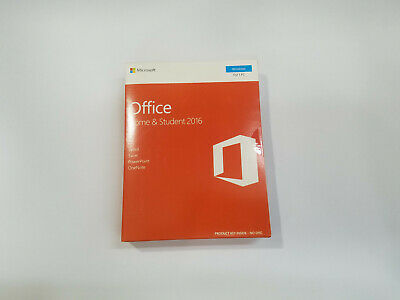 Microsoft Office Home & Student 2016 1-User Pc Key Card 79G-04589