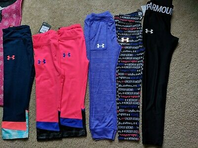 NWT Under Armour Girl Legging Pants