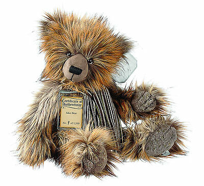 Complete With Gift Bag Fine Quality Silver Tag Bears Oscar rrp £75 Special Offer