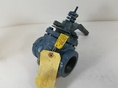"Dezurik 1021406 2"" Threaded Plug Valve"