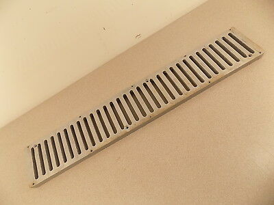 "NDS  Channel Grate Cover 24"" x 4 1/8"" x 3/4""   Pre-Owned"