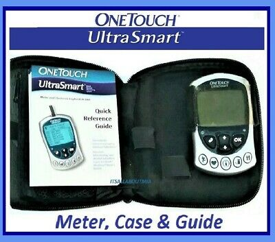 NEW ONE TOUCH Ultrasmart ULTRA SMART Glucose Monitor Electronic Logbook Lifescan