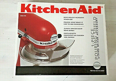 KitchenAid Food Mixer Pouring Shield 4.28L & 4.83L Attachment 5KN1PS new in box