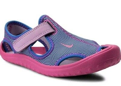 f2e7787b5f4d Nike Sunray Protect Ps Sandals Pink Purple 903633-500 - Girls Uk13.5 Eur32