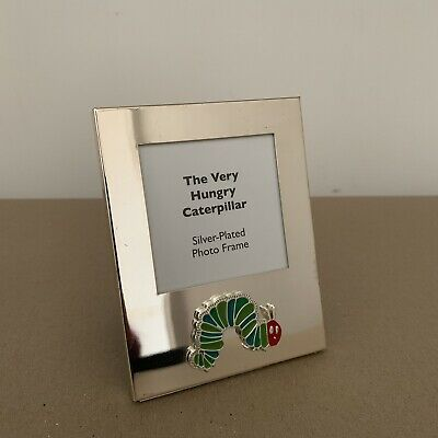 Portmeirion The Very Hungry Caterpillar Silver Plated Photo Frame - 11 x 8.5cm