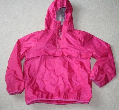 Next Pink Cag In A Bag Lightweight Cagoule Raincoat Girls 4 7 Years 12-18 Months