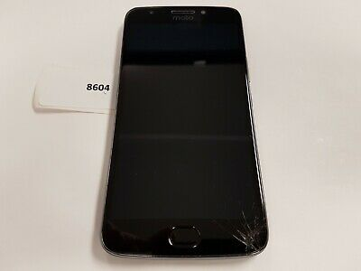 MOTOROLA MOTO E4 32GB plus (Unlocked, XT1775) -Gray--Read as parts