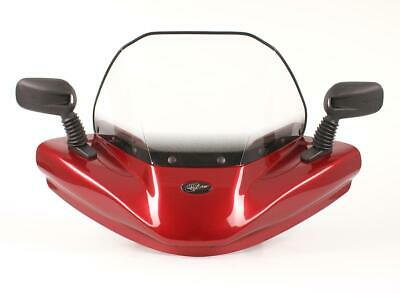 Windshield Yamaha Grizzly 660 2006 Radiant Red Metallic HR-03 **
