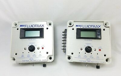2 BEI FluidTrax Well Water Level Monitoring System Control Boxes
