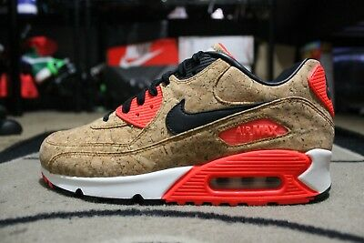 0653da9ecc New Nike Air Max 90 Cork Womens 25th Anniversary Infrared Size 9.5 (726485 -70