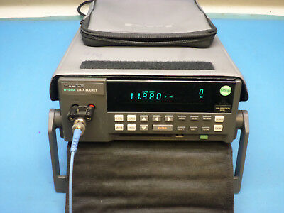 Fluke 2635A Data Bucket Acquisition System w/ 2645A Input Module, Case & Cables