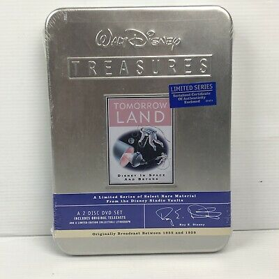 Walt Disney Treasures - Tomorrow LAND - 2 Disc DVD Set - LTD SERIES - NEW