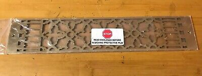 "Reggio Brass Antique Style Register Cover Grate 20""x4"""