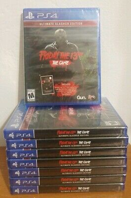 Friday the 13th The Game [ Ultimate Slasher Edition ] Playstation 4, PS4 **NEW**