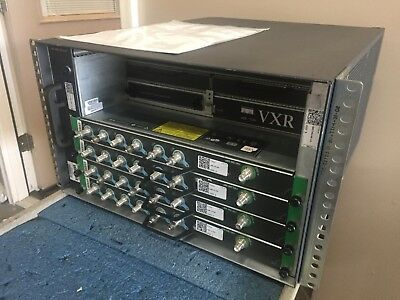 Cisco UBR7246VXR CMTS uBR-7200-NPE-G1 4x UBR-MC16U 2xAC 1Yr Warranty Free Ship