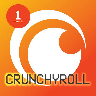 Crunchyroll 30 days (1 Month) Premium - Personal, Not shared