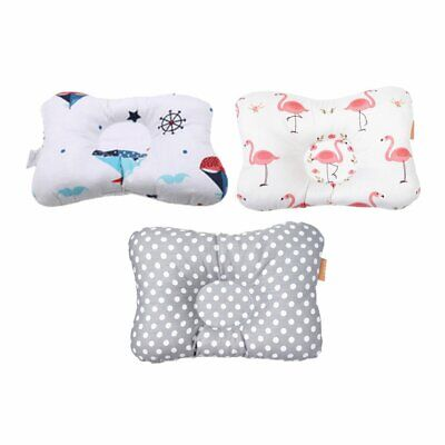 Baby Infant Pillow Newborn Anti Flat Head Syndrome Neck Support Pillow NW