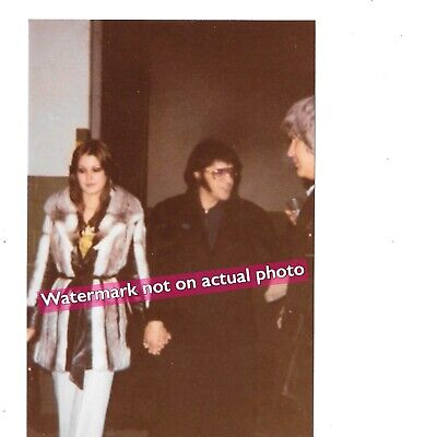 Elvis Photo - Rare Candid Snapshot With Last Gf Ginger! Good Quality! Wow!!!