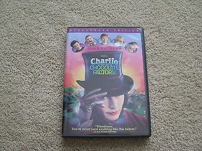 Charlie and the Chocolate Factory (DVD, 2005, Widescreen) USED in great shape